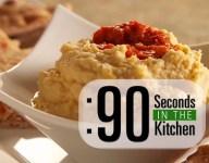 90 Second Chickpea Hummus