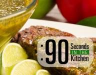 90 Second Chimichurri Sauce