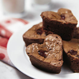 Chocolate Cherry Muffins Recipe