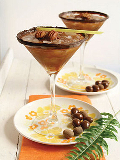 Chocolate Turtle Martini Recipe