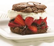 Chocolate Strawberry Shortcakes Recipe