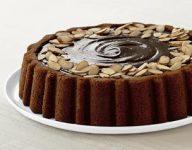 Chocolate Almond Mary Ann Cake