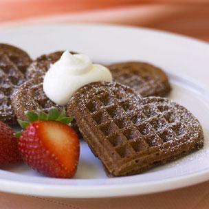 Chocolate Amaretti Heartbreakers