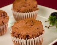 Chocolate Raspberry Minute Ice Cream Muffins Recipe