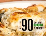 90 Second Classic Scalloped Potatoes