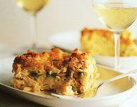 Crab, Pasta and Cheese Gratin