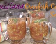 Louisiana Crawfish Corn Soup