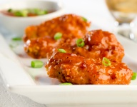 Crispy Maple Chipotle Hot Wings