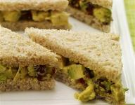 Curried Chicken and Avocado Salad Sandwich Recipe