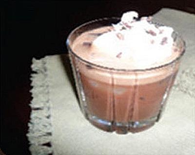 Dark Chocolate Raspberry Iced Coffee