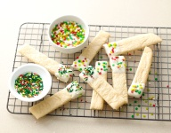 Easy Dipped Sugar Cookie Sticks