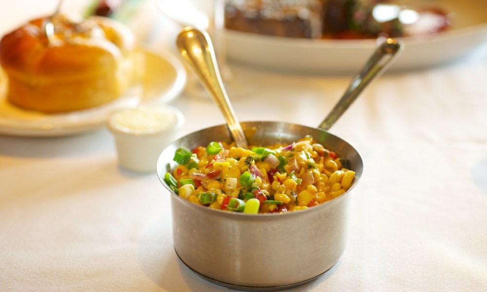 Creamy Corn with Manchego