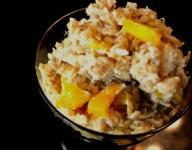 Baked Mango Oatmeal