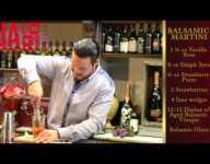Balsamic Martini