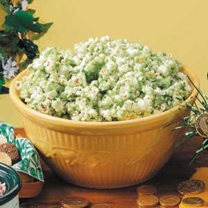 Saint Patricks Day Popcorn