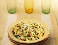 Farfalle with Peas and Prosciutto