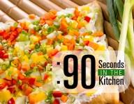 90 Second Farmers Market Pizza