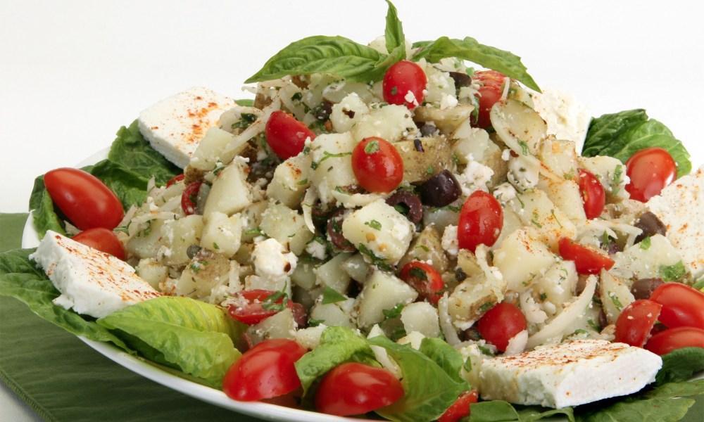 Feta, Tomato and Caper Potato Salad