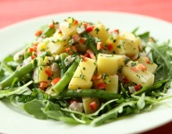 Florida Potato and Green Bean Salad