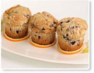 Blueberry-Lemon Corn Muffins