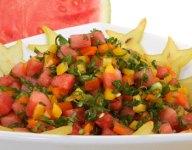 Midsummer Melon Salsa