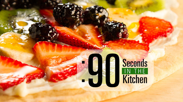 90 Second Fruit Pizza
