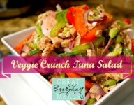 Veggie Crunch Tuna Salad