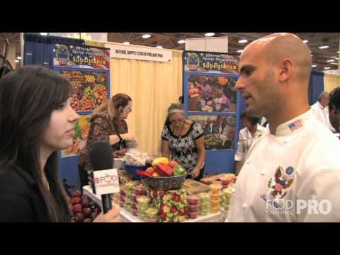 Food Channel Speaks with Chef Sam Kass at SNA 2010