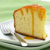 Glazed Bourbon Orange Pound Cake with Apricot-Orange Sauce Recipe