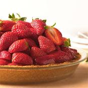 Glazed Fresh Strawberry Pie Recipe