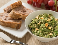 Green Pxali (Spinach and Walnut Dip)
