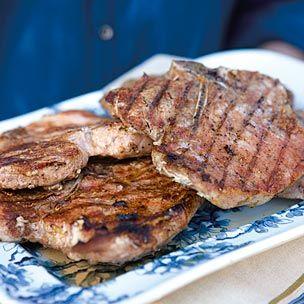 Grilled 5 Spice Pork Chops