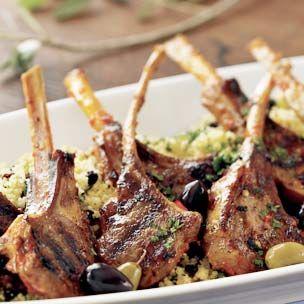 Lamb Chops with Harissa Recipe
