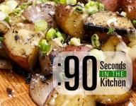 90 Second Grilled Potato Salad
