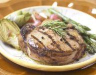 Grilled Brined Pork Chops Recipe
