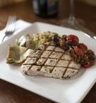Pesce Spada Siciliana (Grilled Swordfish Sicilian Style)