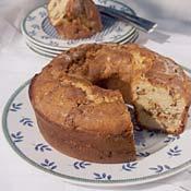 Hazelnut Pear Cardamom Swirl Coffee Cake Recipe