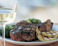 Herbed Pork Chops with Apples