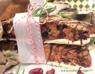 Holiday Cranberry Biscotti