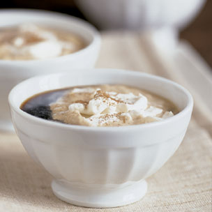 Holiday Coffee with Spiced Whipped Cream