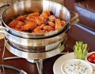 Hot Wings with Blue Cheese Dip