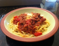Isabel's Spaghetti and Meat Sauce