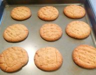 Bungalow Chef's Peanut Butter Cookies
