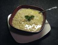 Lancaster County Chicken Corn Soup