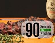 90 Second Irish Stout Marinated Tri-Tip Steak