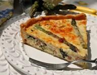 Asparagus & Kale Quiche