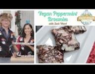 Vegan Peppermint Brownies Recipe with Zack Ward, A Christmas Story's Scut Farkus