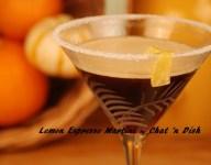 Lemon Espresso Martinis