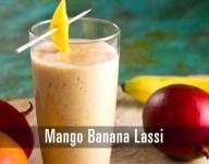 Mango Banana Lassi