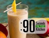 90 Second Mango Banana Lassi